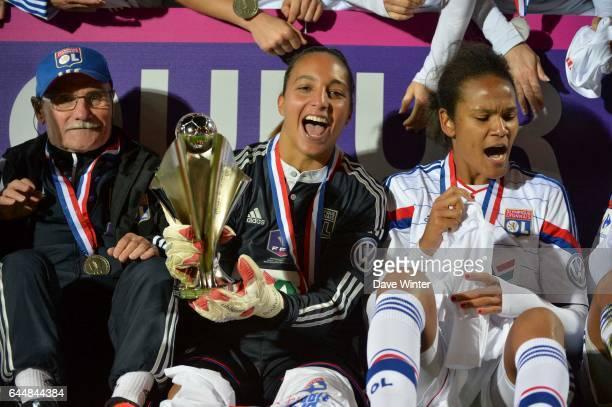 Sarah BOUHADDI / Wendie RENARD Montpellier / Lyon Finale Coupe de France Calais Photo Dave Winter / Icon Sport