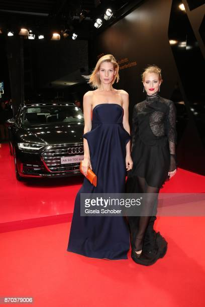 Sarah Brandner and Cosima Auermann daughter of model Nadja Auermann during the 24th Opera Gala benefit to Deutsche AidsStiftung at Deutsche Oper...