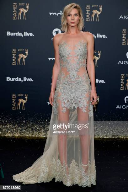 Sarah Brandner arrives at the Bambi Awards 2017 at Stage Theater on November 16 2017 in Berlin Germany