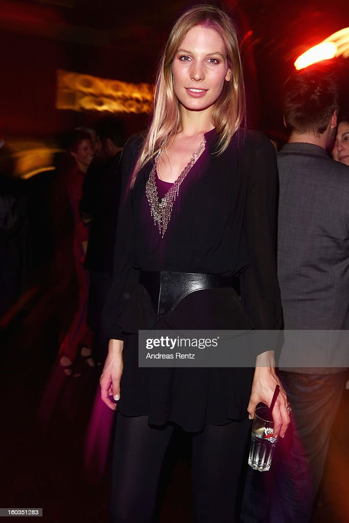 Sarah Brandner attends the after show party to 'Kokowaeaeh 2' - Germany Premiere at Astra on January 29, 2013 in Berlin, Germany.