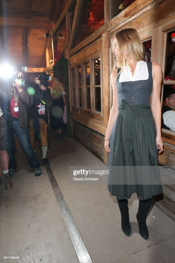 Sarah Brandner during the Oktoberfest at Kaefer Schaenke... News ...