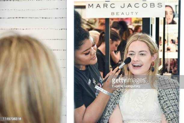 Sarah Bray attends the Meet Marc Jacobs Beauty Global Artistry Ambassador Nikkie Tutorials at Sephora Times Square on June 13 2019 in New York City