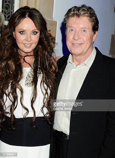 Sarah Brightman and Michael Crawford attend an afterparty following the 25th Anniversary performance of Andrew Lloyd Webber's 'The Phantom Of The...