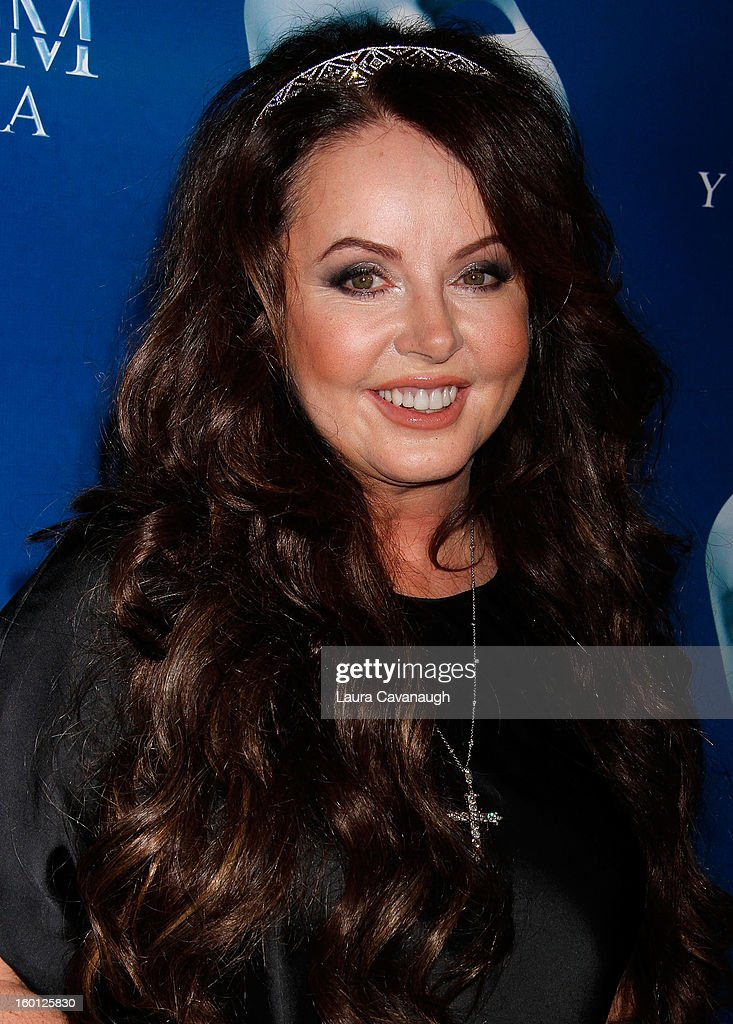 Sarah Brightman attends 'The Phantom Of The Opera' Broadway 25th Anniversary at Majestic Theatre on January 26, 2013 in New York, New York.