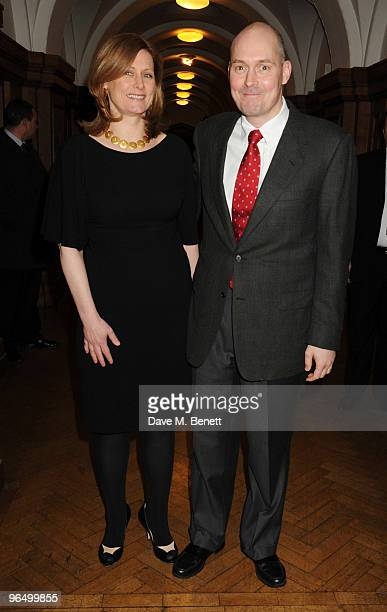 Sarah Brown and her brother Sean Macaulay attend the London Evening Standard British Film Awards 2010 at The London Film Museum on February 8 2010 in...