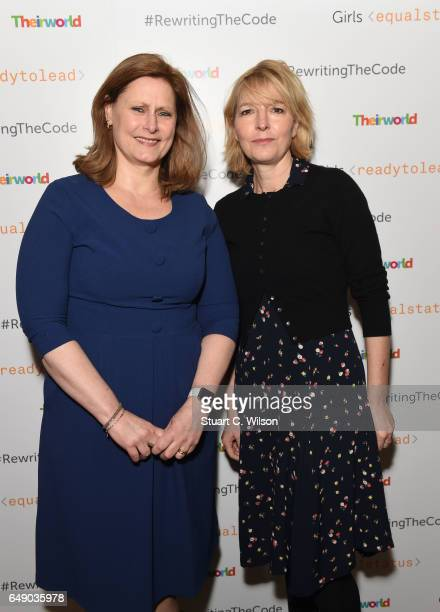 Sarah Brown and Jemma Redgrave attend Theirworld #RewritingTheCode International Women's Day Breakfast 2017 at The Institute of Directors on March 7...