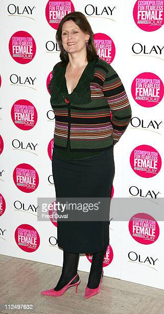 Sarah Brown during Cosmopolitan Fun Fearless Female Awards with Olay Red Carpet at Bloomsbury Ballroom in London Great Britain