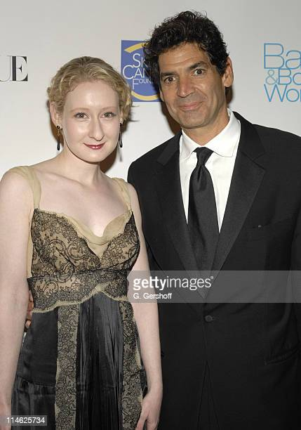 Sarah Brown Vogue Beauty Director and Tom Florio publisher Vogue Magazine