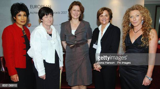 Sarah Brown , wife of Prime Minister Gordon Brown, at the European Women of Achievement Awards 2007 held at Grosvenor House in London. She is...