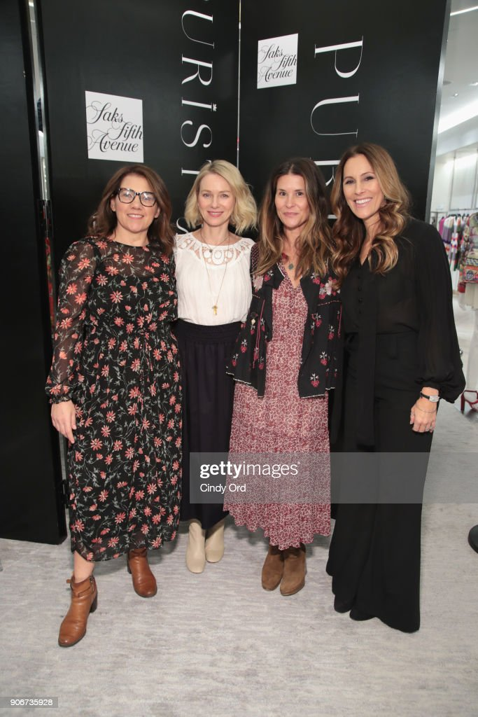 Saks Fifth Avenue And Purist Host Wellness Panel Discussion With Naomi Watts : News Photo