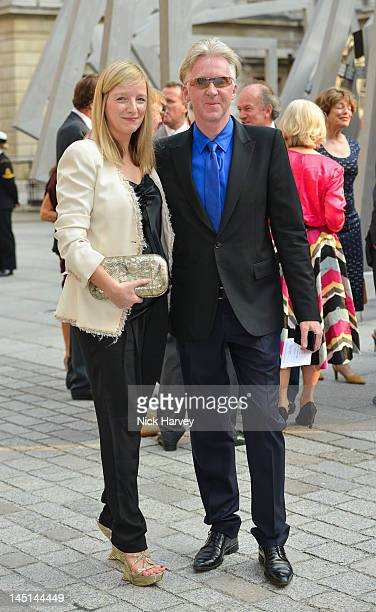 Sarah Burton and Philip Treacy attend A Celebration of the Arts at Royal Academy of Arts on May 23 2012 in London England