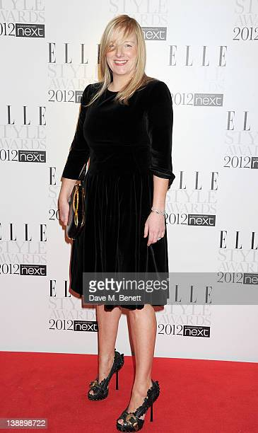 Sarah Burton arrives at the ELLE Style Awards at The Savoy Hotel on February 13, 2012 in London, England.