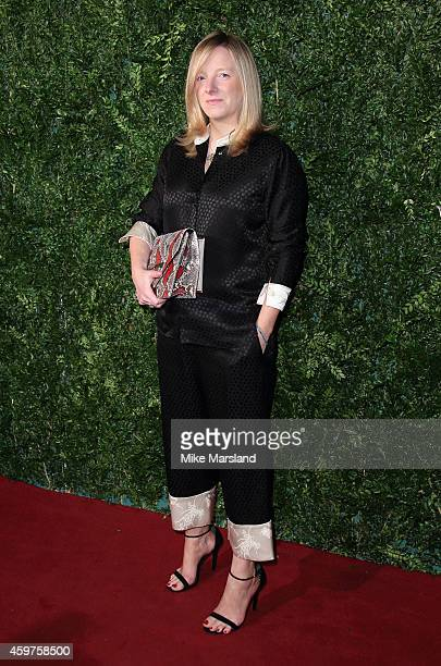 Sarah Burton attends the 60th London Evening Standard Theatre Awards at London Palladium on November 30 2014 in London England