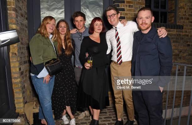 Sarah Burton Hannah Bagshawe Eddie Redmayne Trino Verkade Andrew Bolton and Craig Green attend The Art Of Curating Fashion with Andrew Bolton...