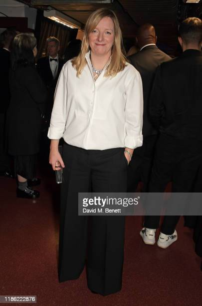 Sarah Burton poses backstage stage during The Fashion Awards 2019 held at Royal Albert Hall on December 2, 2019 in London, England.