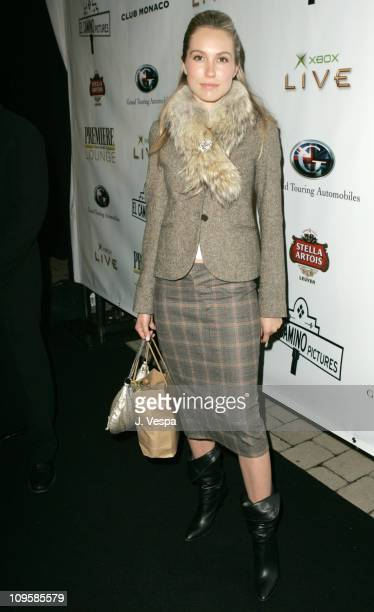 Sarah Carter during 2004 Toronto International Film Festival 'Haven' Party at Courthouse Chamber Lounge in Toronto Ontario Canada