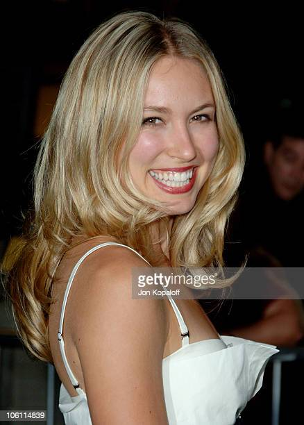 Sarah Carter during Haven Los Angeles Premiere Arrivals at ArcLight Theatre in Hollywood California United States