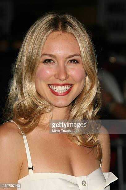 Sarah Carter during Haven Los Angeles Premiere Arrivals at Arclight Cinema in Hollywood California United States