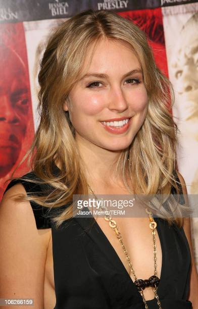 Sarah Carter during Home of The Brave Los Angeles Premiere at Academy of Motion Pictures Arts Sciences in Beverly Hills California United States