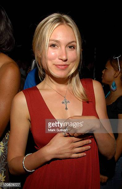 Sarah Carter during Sapporo Presents Jaime Pressly and Hill Harper's AdoptASchool Initiative at Private Estate in Los Angeles California United States