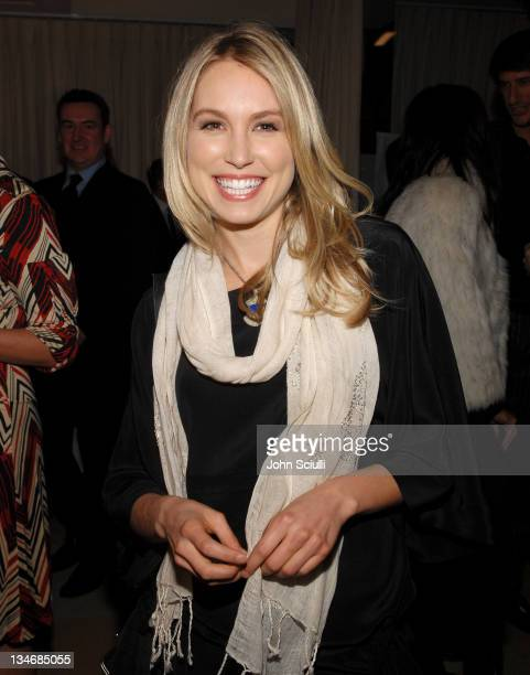 Sarah Carter during Stuart Weitzman at the W Magazine PreGolden Globe Party at Sunset Towers in West Hollywood California United States