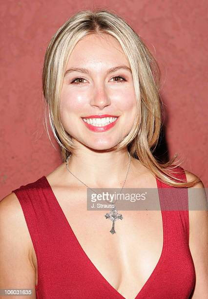 Sarah Carter during The AIDS Healthcare Foundation Presents Hot in Hollywood at The Henry Fonda/Music Box Theatre in Hollywood California United...