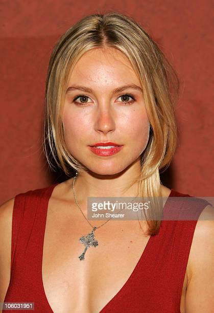 Sarah Carter during The AIDS Healthcare Foundation Presents Hot In Hollywood at Henry Fonda Theatre in Hollywood California United States