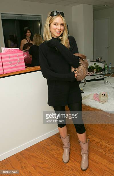 Sarah Carter during Victoria's Secret Los Angeles Showroom Launch in Los Angeles CA United States