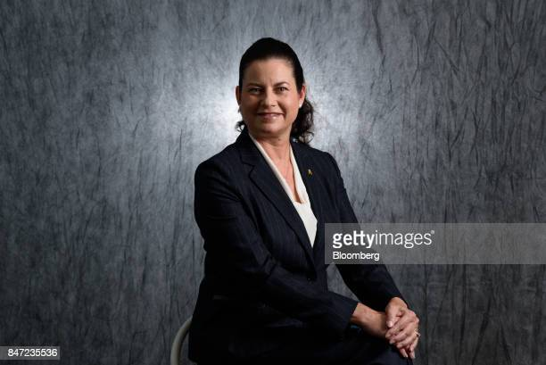 Sarah Casanova president and chief executive officer of McDonald's Holdings Co Japan Ltd poses for a photograph in Tokyo Japan on Wednesday Sept 6...
