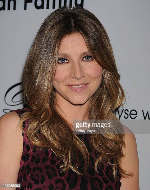 Sarah Chalke attends the Pink Party '11 Hosted By Jennifer Garner To Benefit Cedars-Sinai Women's Cancer Program at Drai's Hollywood on September 10,...