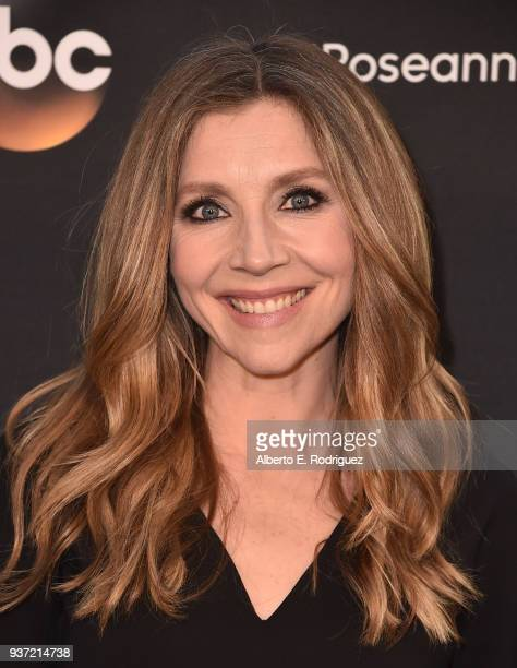 Sarah Chalke attends the premiere of ABC's Roseanne at Walt Disney Studio Lot on March 23 2018 in Burbank California