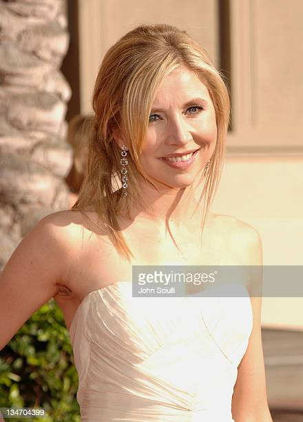 Sarah Chalke during 58th Annual Creative Arts Emmy Awards Arrivals at Shrine Auditorium in Los Angeles California United States