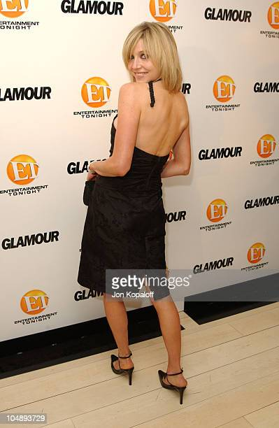 Sarah Chalke during Entertainment Tonight Glamour Magazine Celebrate The 55th Annual Emmy Awards at Mondrian Hotel in West Hollywood California...