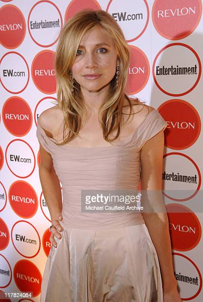 Sarah Chalke during Entertainment Weekly Magazine 4th Annual Pre-Emmy Party - Red Carpet at Republic in Los Angeles, California, United States.