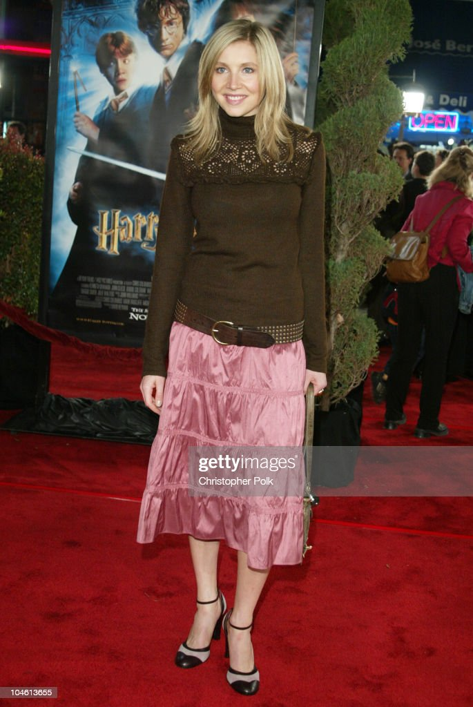 Sarah Chalke during 'Harry Potter and The Chamber of Secrets' Premiere at Mann Village Theatre in Westwwood, CA, United States.
