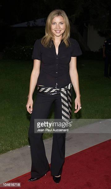 Sarah Chalke during NBC Summer 2002 AllStar Party at Ritz Carlton Hotel in Pasadena California United States