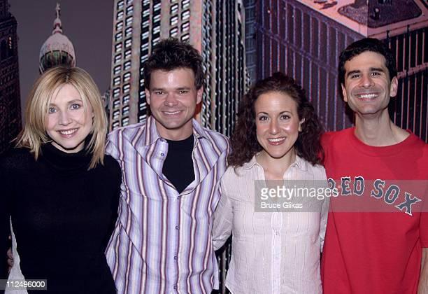 Sarah Chalke, Hunter Foster, Jenn Harris and John Cariani