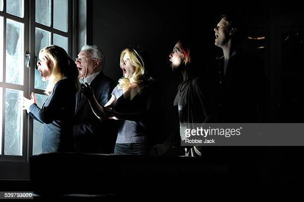 Sarah Chamberlain as Debra Philip Voss as Charles Andree Bernard as EveRuth Everett as Francis and Paul Trussell as Alan in Steven Berkoff's 6 Actors...