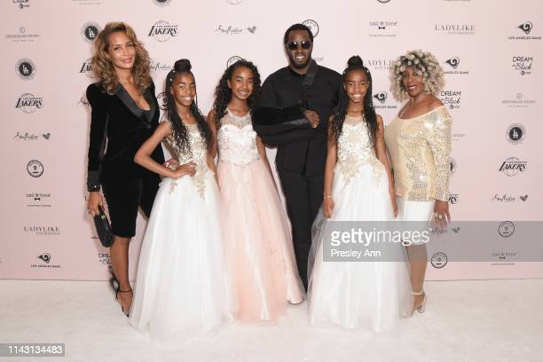 Sarah Chapman D'Lila Star Combs Chance Combs Sean Combs Jessie James Combs and Janice Combs attend The LadyLike Foundation Women Of Excellence...