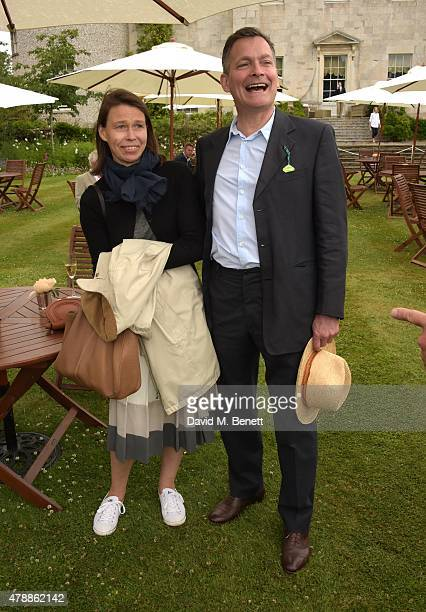 Sarah Chatto and Daniel Chatto attend the Carter Style Luxury Lunch at the Goodwood Festival of Speed on June 28 2015 in Chichester England