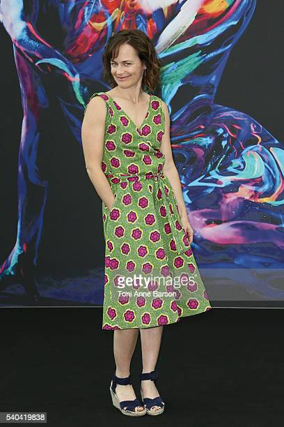 Sarah Clarke attends 'Bosch' Photocall as part of the 56th Monte Carlo Tv Festival at the Grimaldi Forum on June 15 2016 in MonteCarlo Monaco