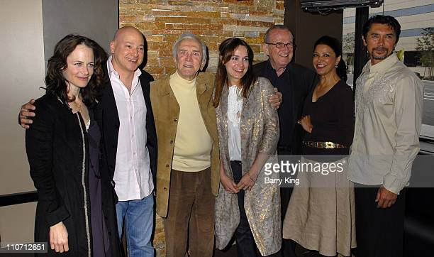 Sarah Clarke Evan Handler Kirk Douglas Lucy Brown Larry Gelbart Shohreh Aghdashloo and Lou Diamond Phillips