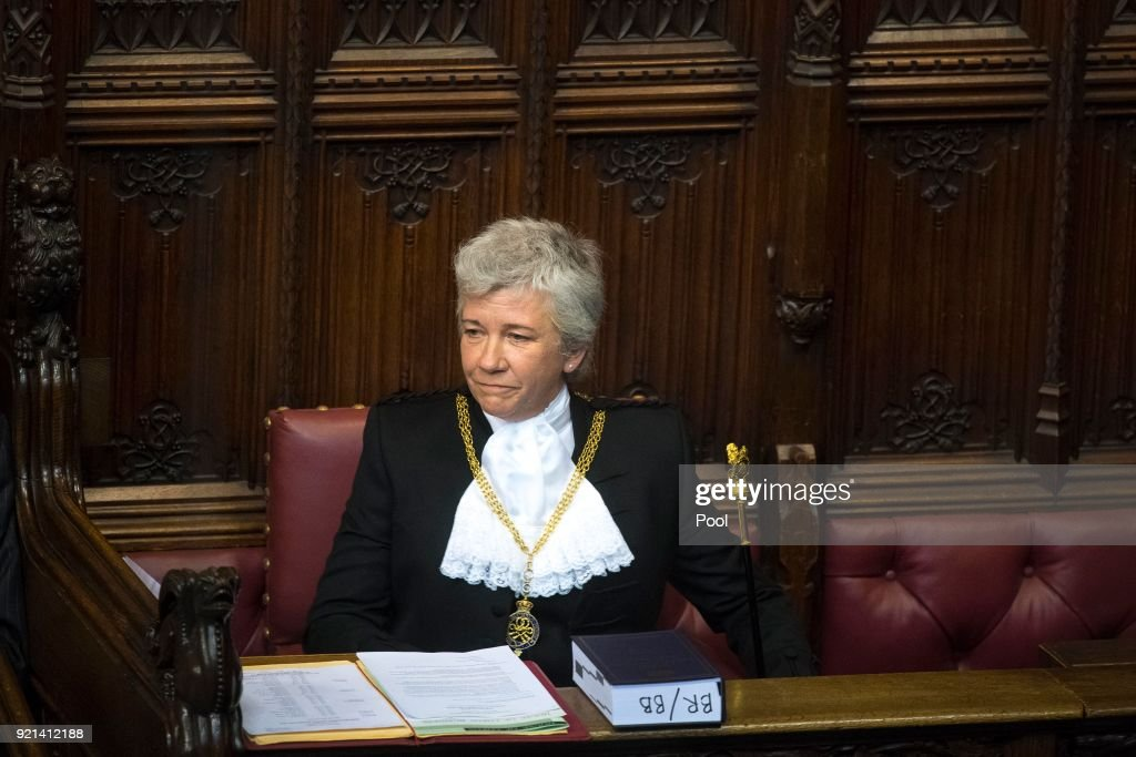 Houses Of Parliament Welcomes New Black Rod To Her Position