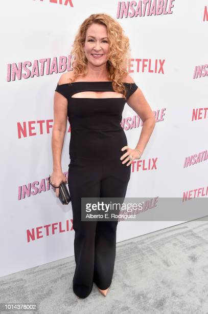 Sarah Colonna attends the Season 1 premiere of Netflix's Insatiable at ArcLight Hollywood on August 9 2018 in Hollywood California
