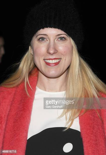 Sarah Conly of Cosmopolitan magazine attends the ICB By Prabal Gurung Show during Mercedes-Benz Fashion Week Fall 2014 at Eyebeam on February 11,...