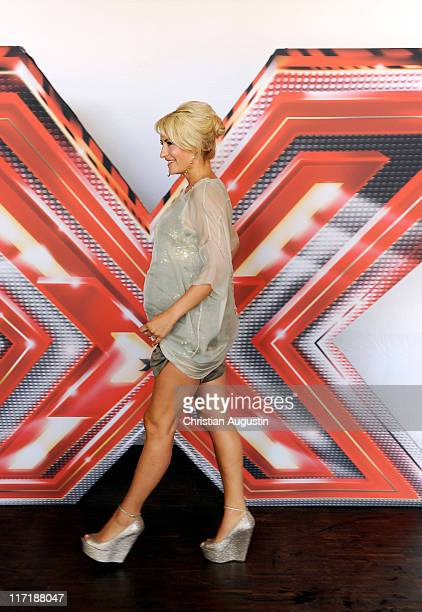 Sarah Connor attends XFactor Photocall at Alte Zollamt on June 24 2011 in Hamburg Germany