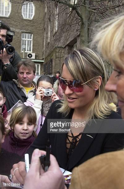 Sarah Connor Ehrenbotschafterin von Delmenhorst Mutter Soraya Schwester Valentia Lewe Fan Delmenhorst Sängerin Familie Promis Prominente Kamera...