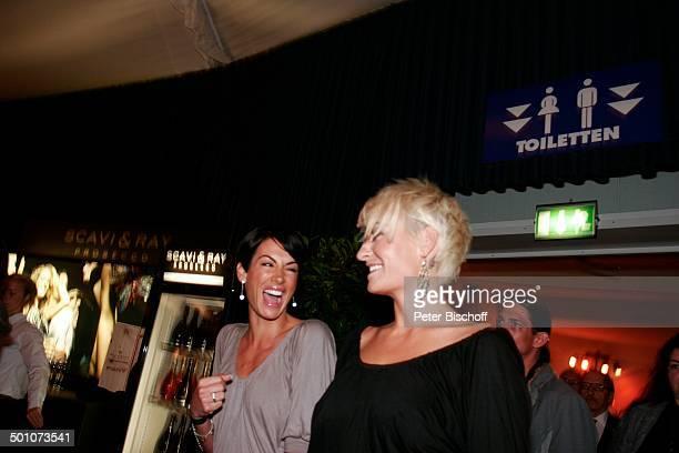 Sarah Connor Freundin GalaNacht Halbfinaltag TennisTurnier 17 Gerry Weber Open Halle NordrheinWestfalen Deutschland Europa feiern Feier lachen Party...