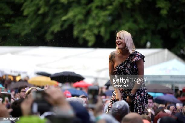 Sarah Connor 'Muttersprache'Tour am 06 Juli 2017 auf dem KunstRasen CharlesdeGaulleStraße BonnGronau
