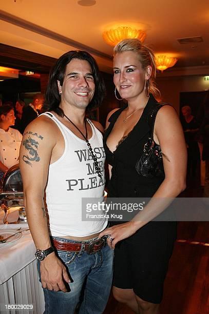 Sarah Connor Und Marc Terenzi Beim Dachterrassenfest Von Der Produktionsfirma Mme In Berlin Am 260806